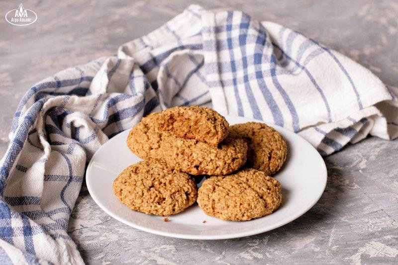 Овсяное печенья с фото