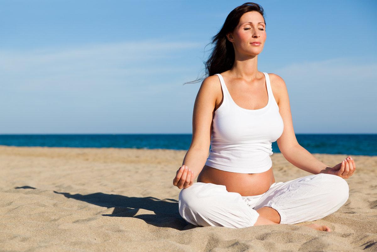 Вечерняя йога для беременных 9