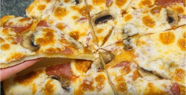 Рецепт пиццы дрожжевой в духовке в домашних условиях пошаговый рецепт с