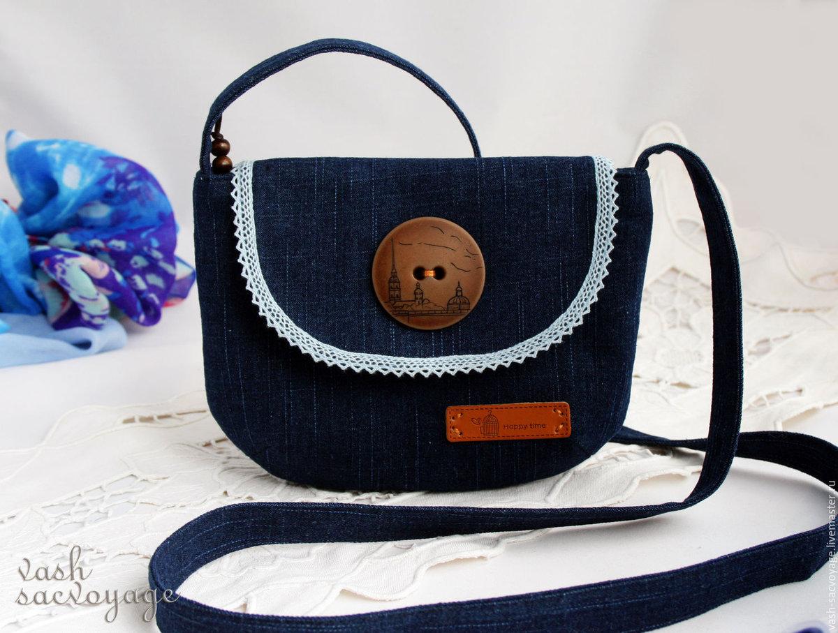 Как сшить самой маленькую сумочку через плечо 272