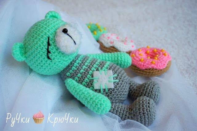 Вязание игрушек для новорожденных крючком 88