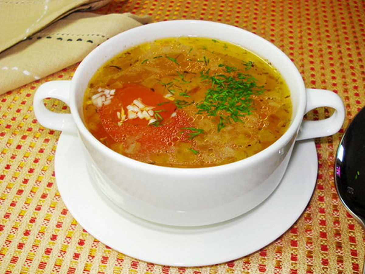 Рецепты диетических овощных супов без мяса