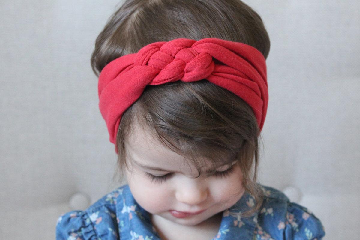 Детская повязка на голову своими руками 71