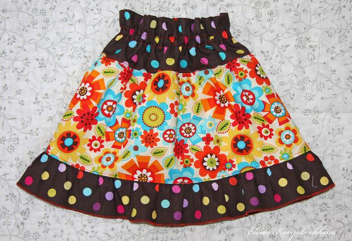Сшить юбку для младенца 59