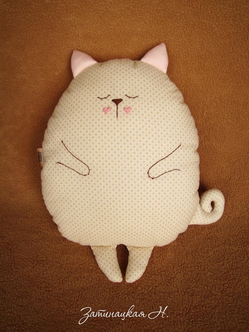 Пошить игрушку кота своими руками
