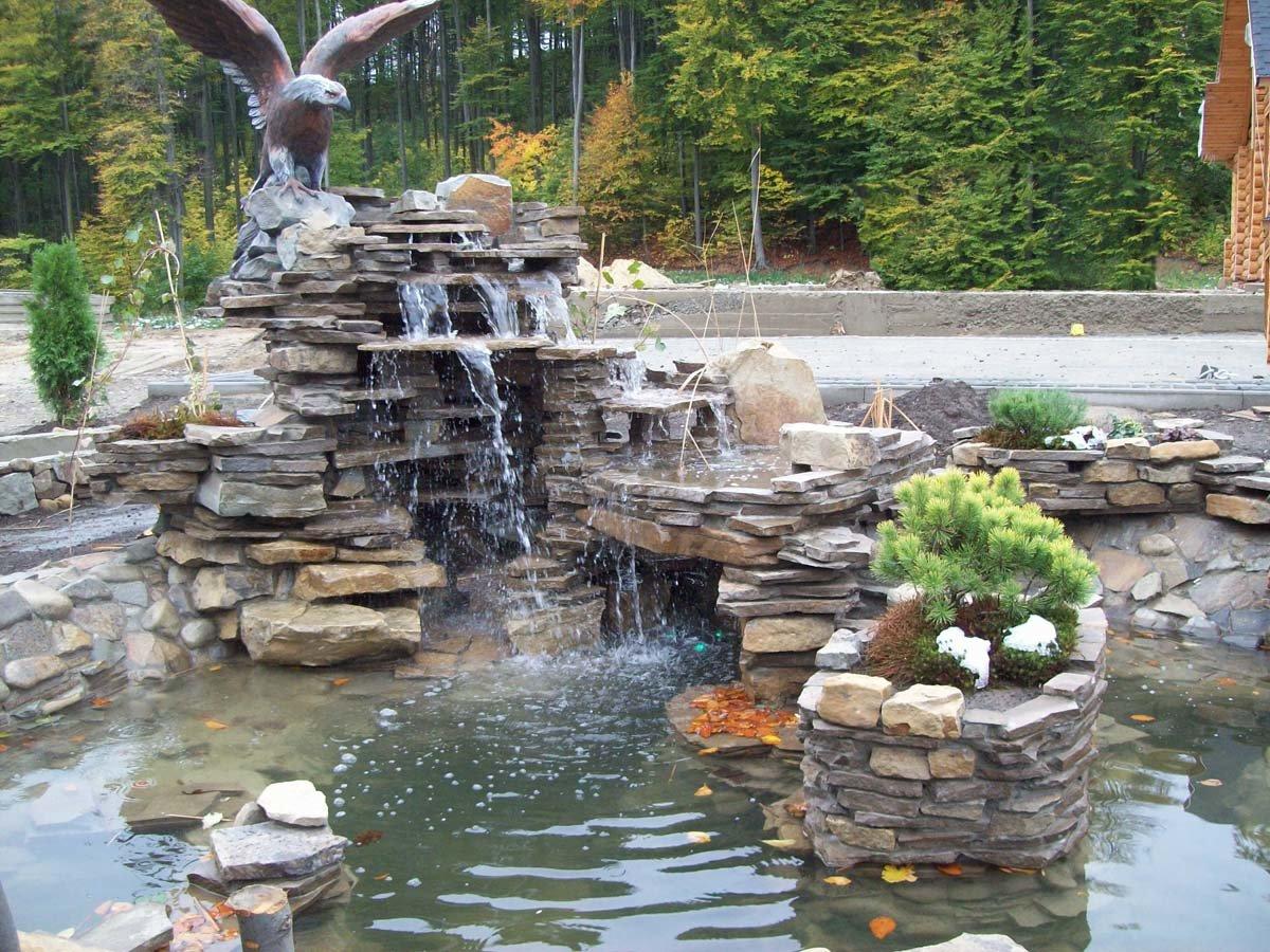 Водопад своими руками: для дачи, сада, домашний 16