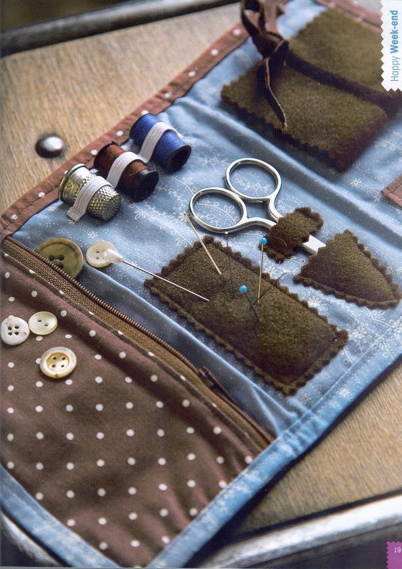 Органайзер для рукоделия из ткани мастер класс