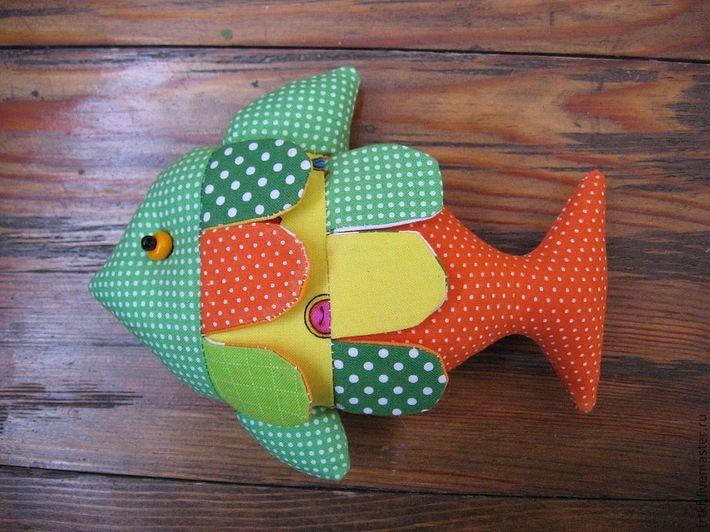 Мягкие игрушки своими руками рыбки