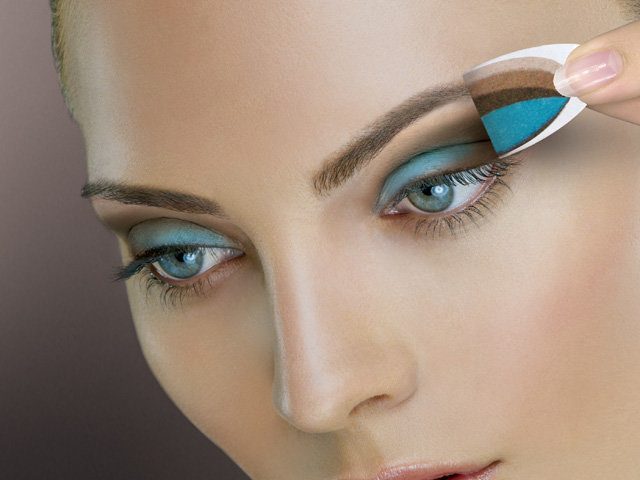Фото макияжа для зеленых узких глаз