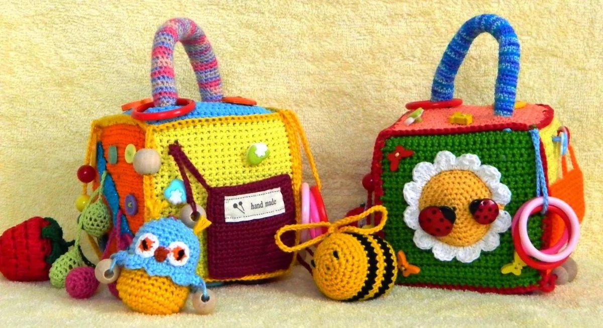 Вязание крючком игрушки детские 44