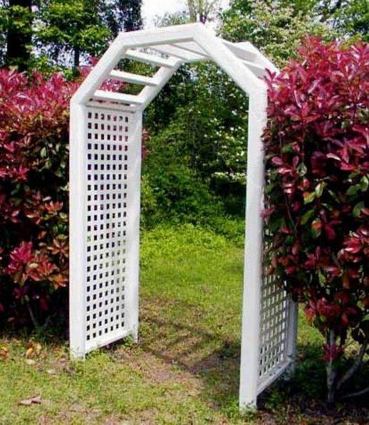 Как сделать арку для сада