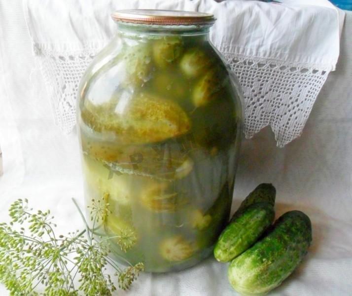 Огурцы в огурцах на зиму рецепт с пошагово в