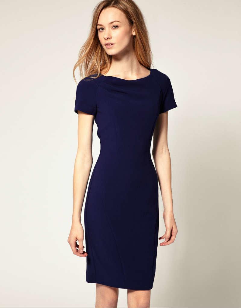 Платья футляр простое