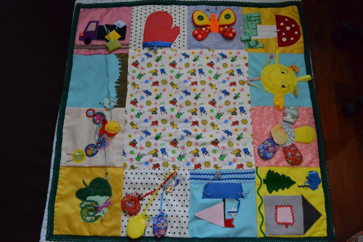 Развивающий коврик для новорожденного своими руками 72