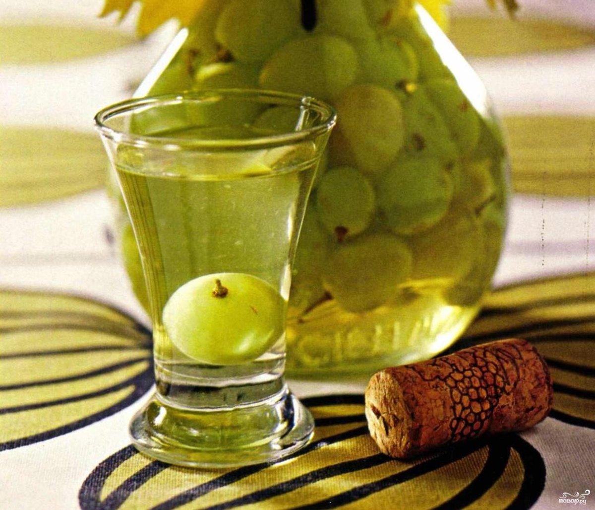 Наливка из винограда в домашних условиях простой  570