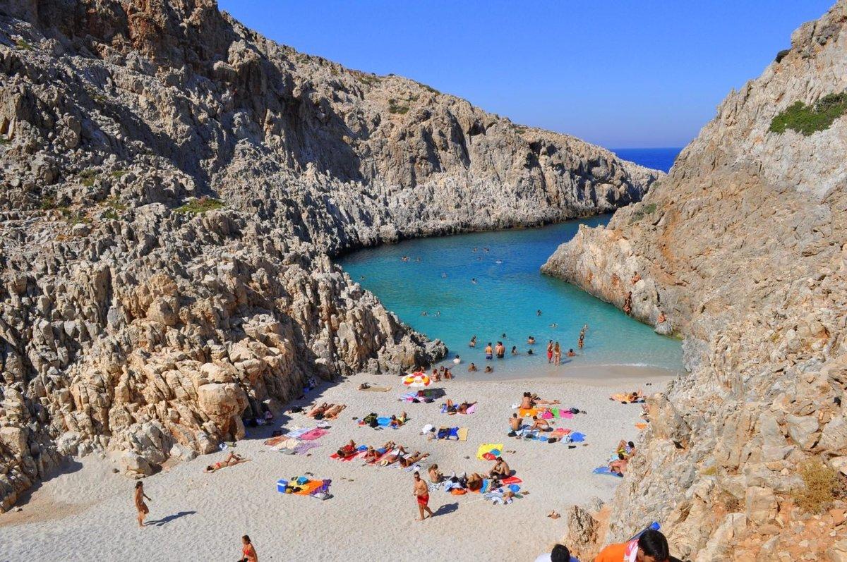 Фото пляжей о. крита