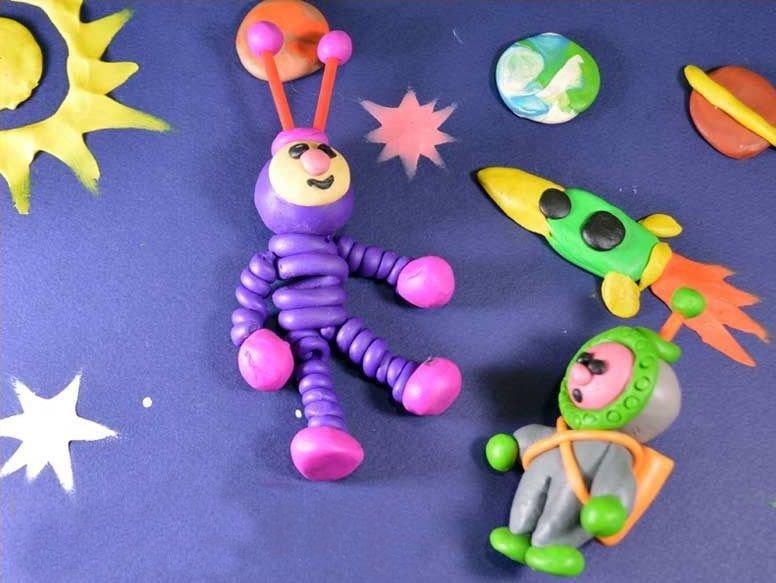 Поделки из пластилина своими руками с детьми 571