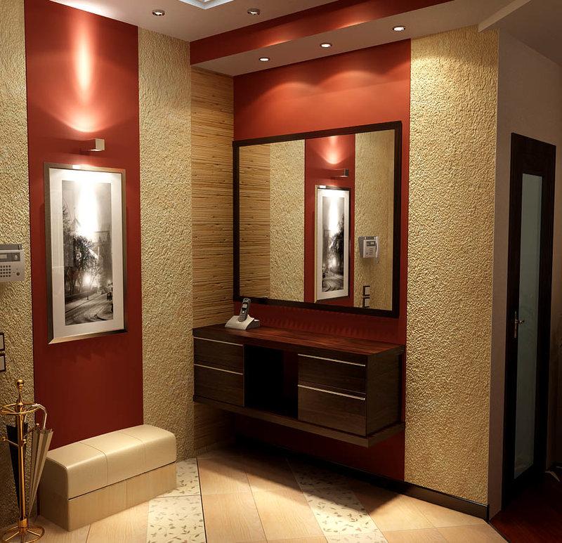 Фото дизайн прихожей в малогабаритной квартире