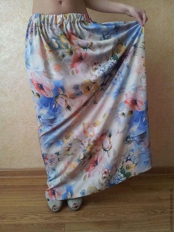 Простая летняя юбка своими руками фото 77