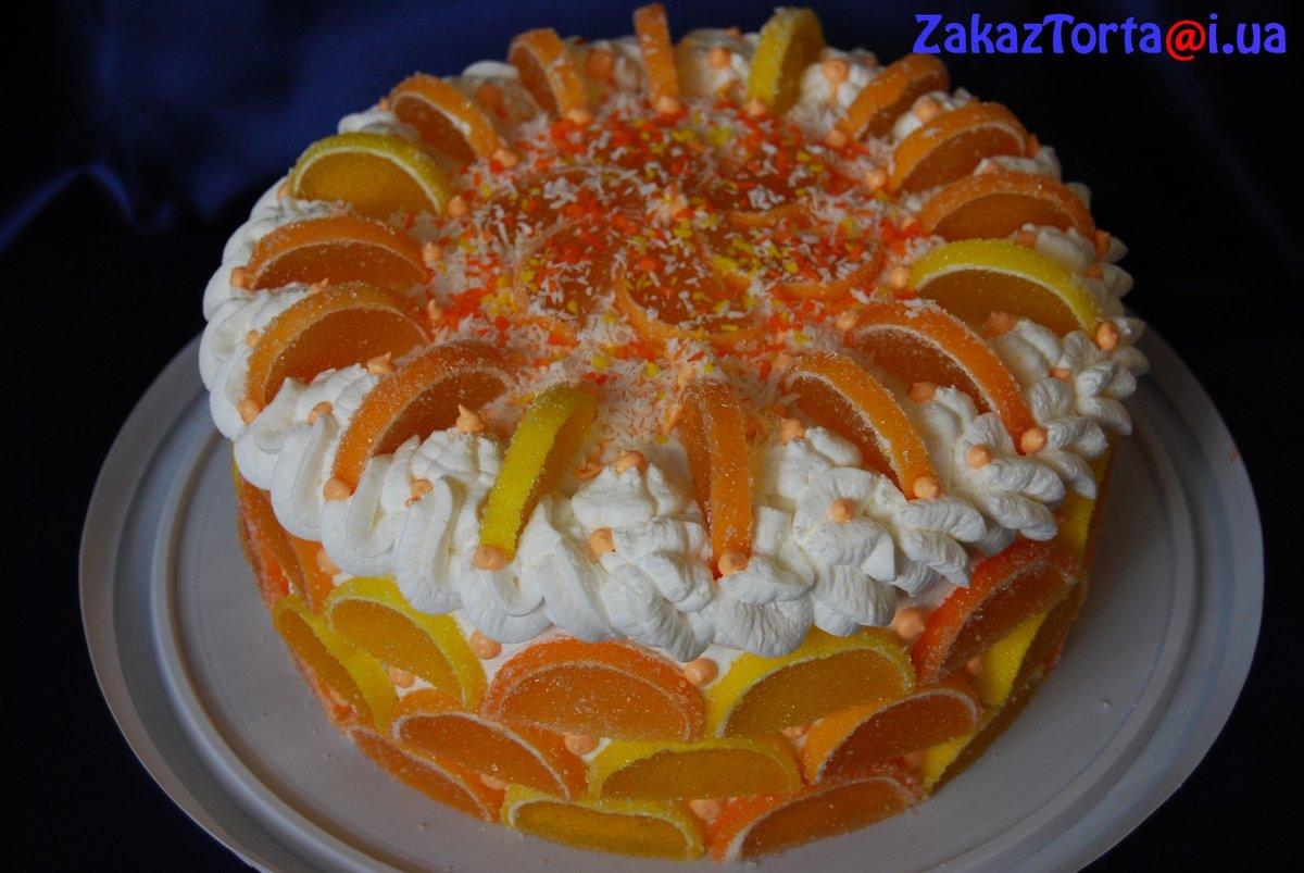 Украшение из мармелада для торта