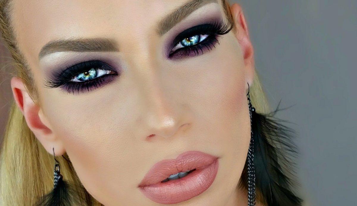 Фото макияжа в стиле смоки айс
