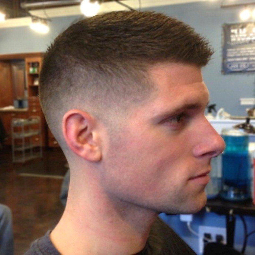 Причёски с переходом для мужчин