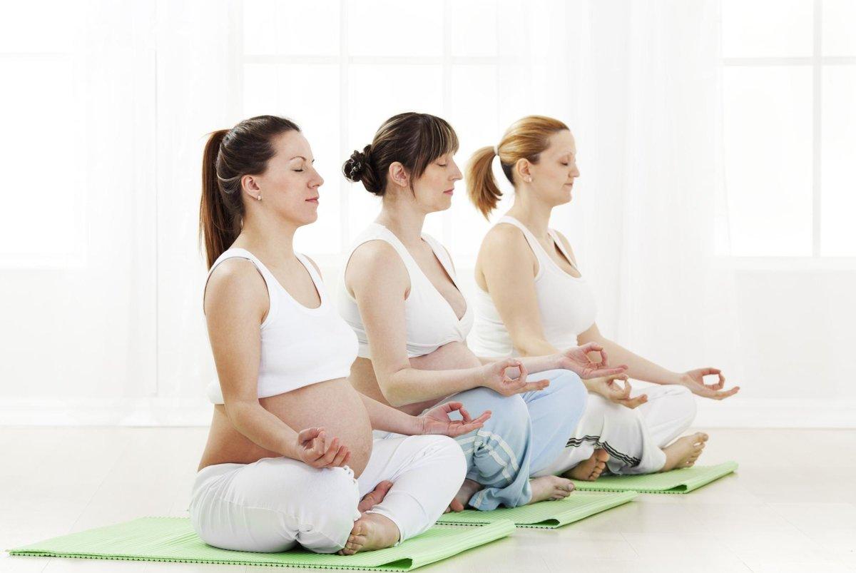 Вечерняя йога для беременных 32