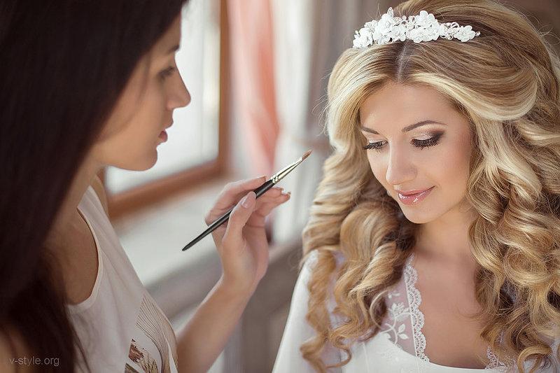 Визажист и стилист на свадьбу