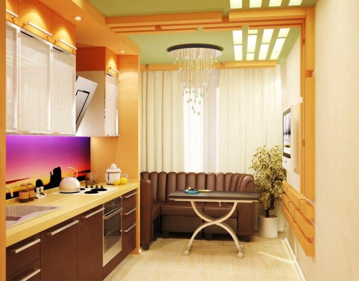 Кухня соединенная с лоджией дизайн