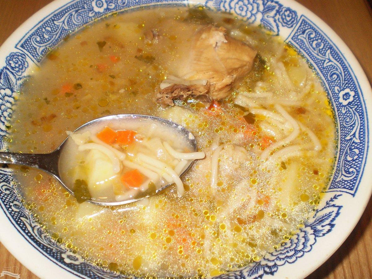 Суп рецепт из окорочка