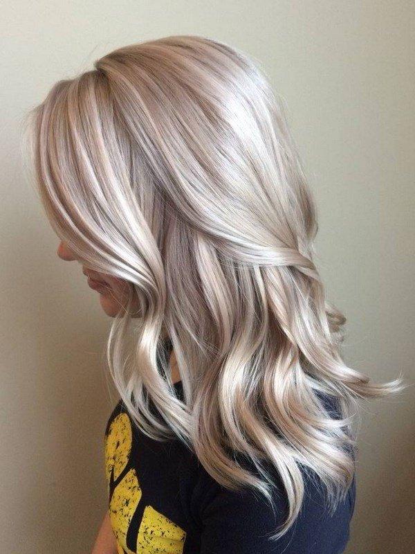 Модные цвета волос 2017 женские на средние волосы блонд