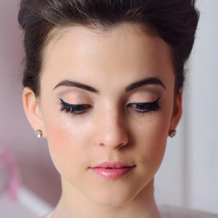 Как сделать скромный макияж 674