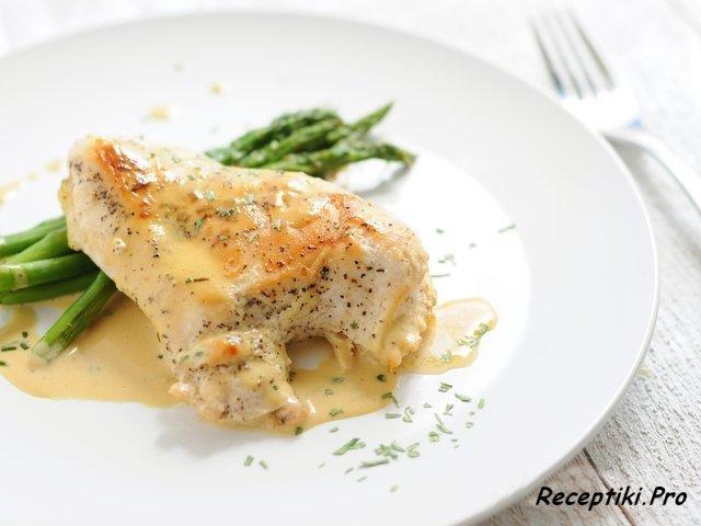 Куриное филе в сырном соусе в духовке рецепты