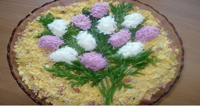 Простые салаты на праздники рецепты с пошагово