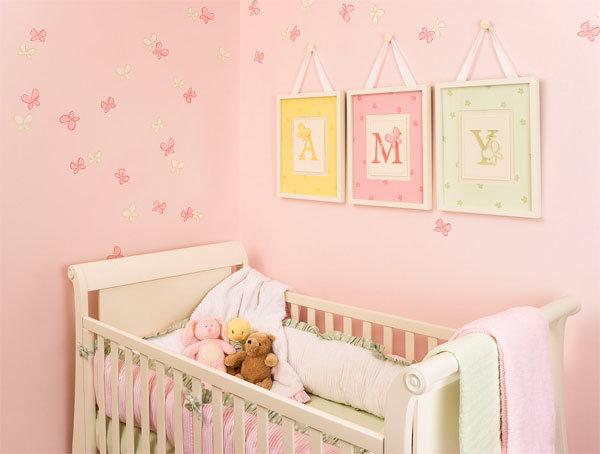 Как своим руками украсить детскую кроватку 963