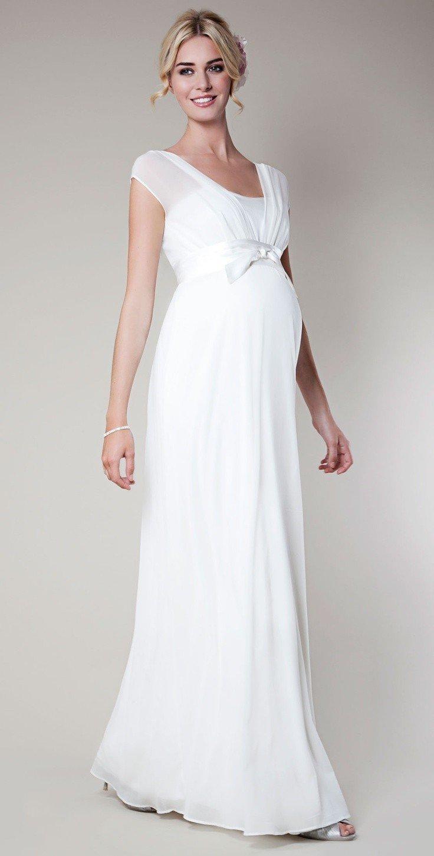 Свадебное платье для беременных буду мамой 83
