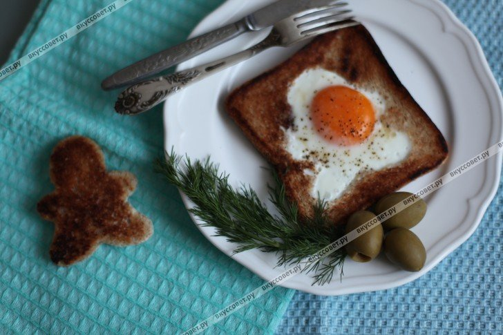 Завтраки для мужчин пошаговые