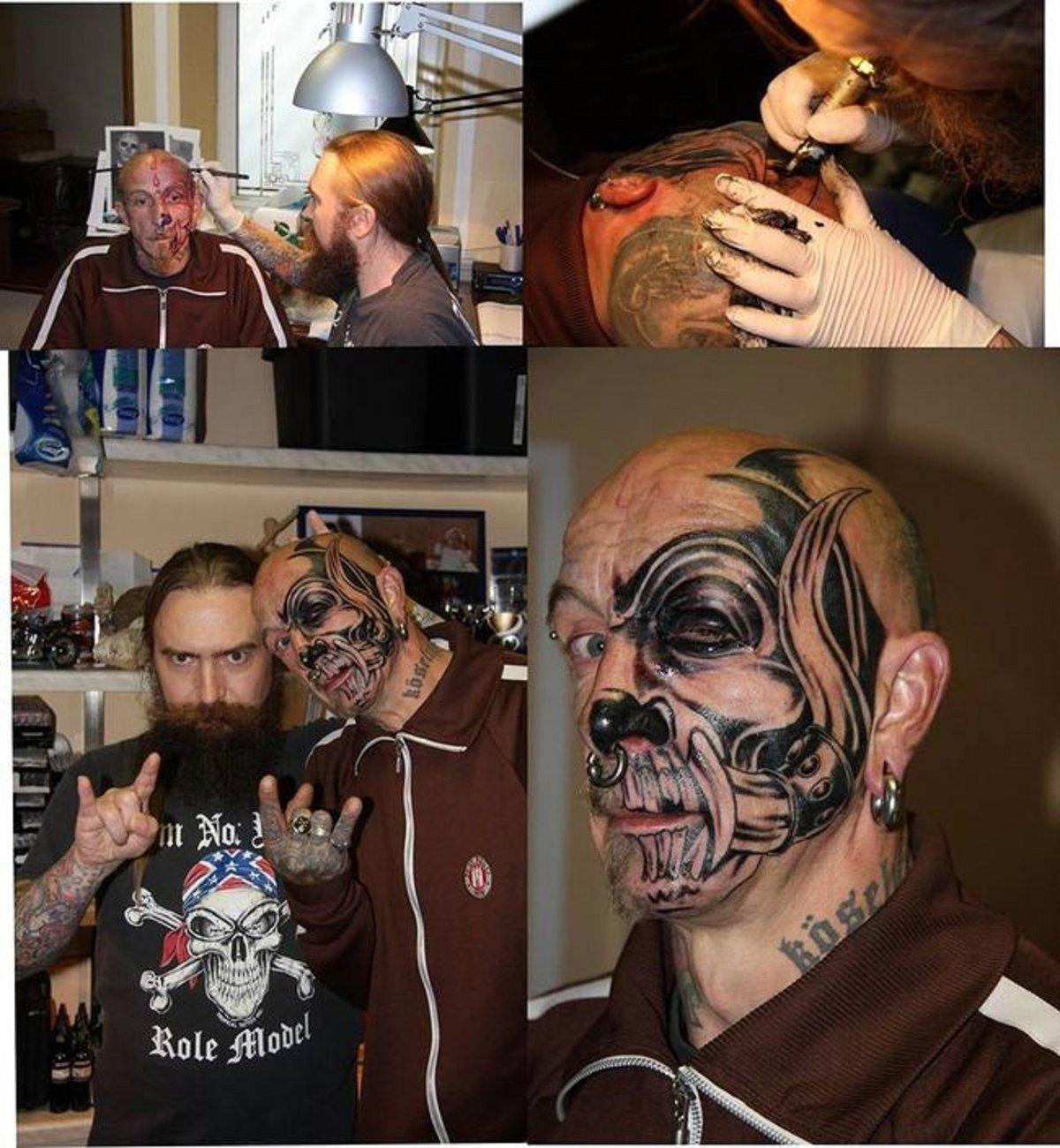 Фото самых тупых татуировок