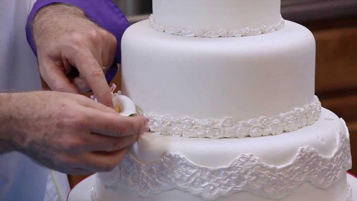Торт на свадьбу своими руками мастер класс 84