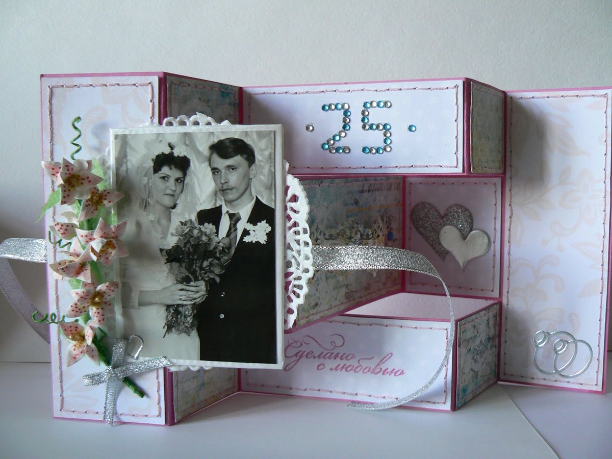 Сделать своими руками подарок на годовщину свадьбы