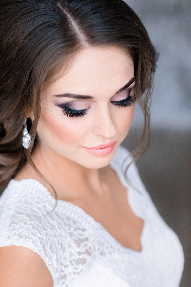 Нежные макияжи для карих