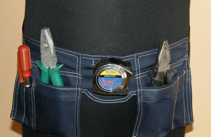 Строительный пояс своими руками из джинса 87