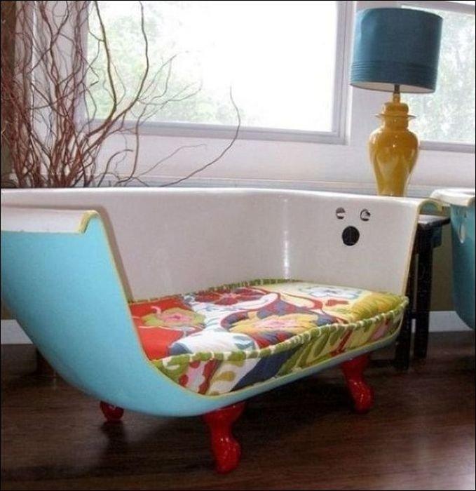 Мебель своими руками из подручных средств фото