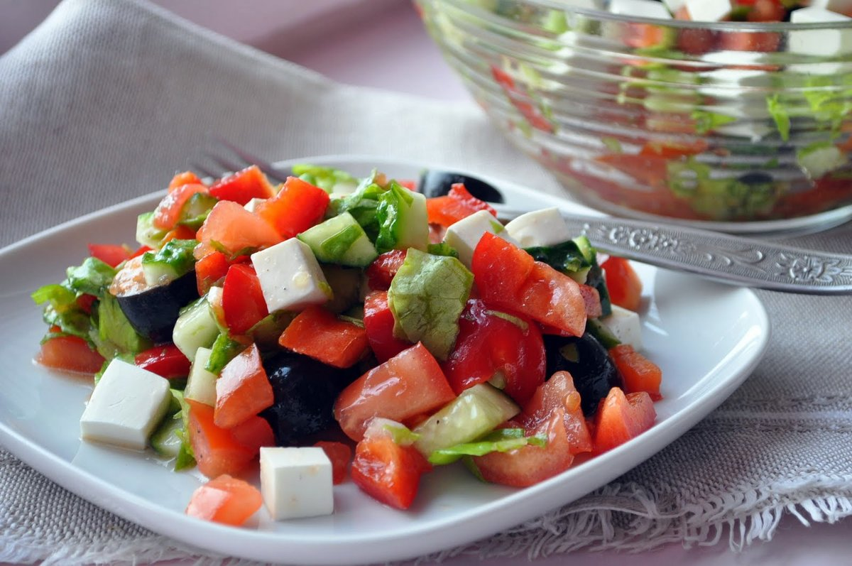 Разные вкусные салаты рецепты