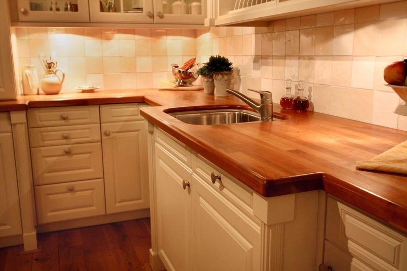 Как сделать столешницу из дерева своими руками на кухню 63