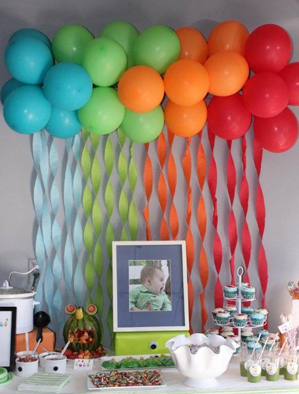 Украшение для детского дня рождения своими руками фото 76