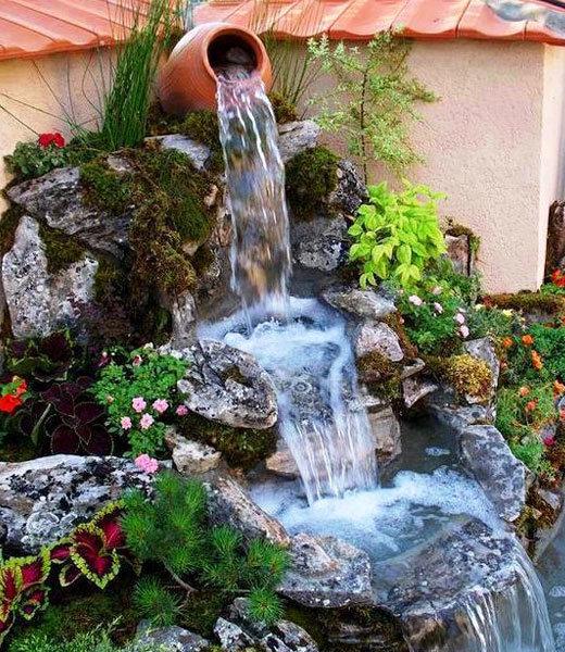 Необычные водопады своими руками 22