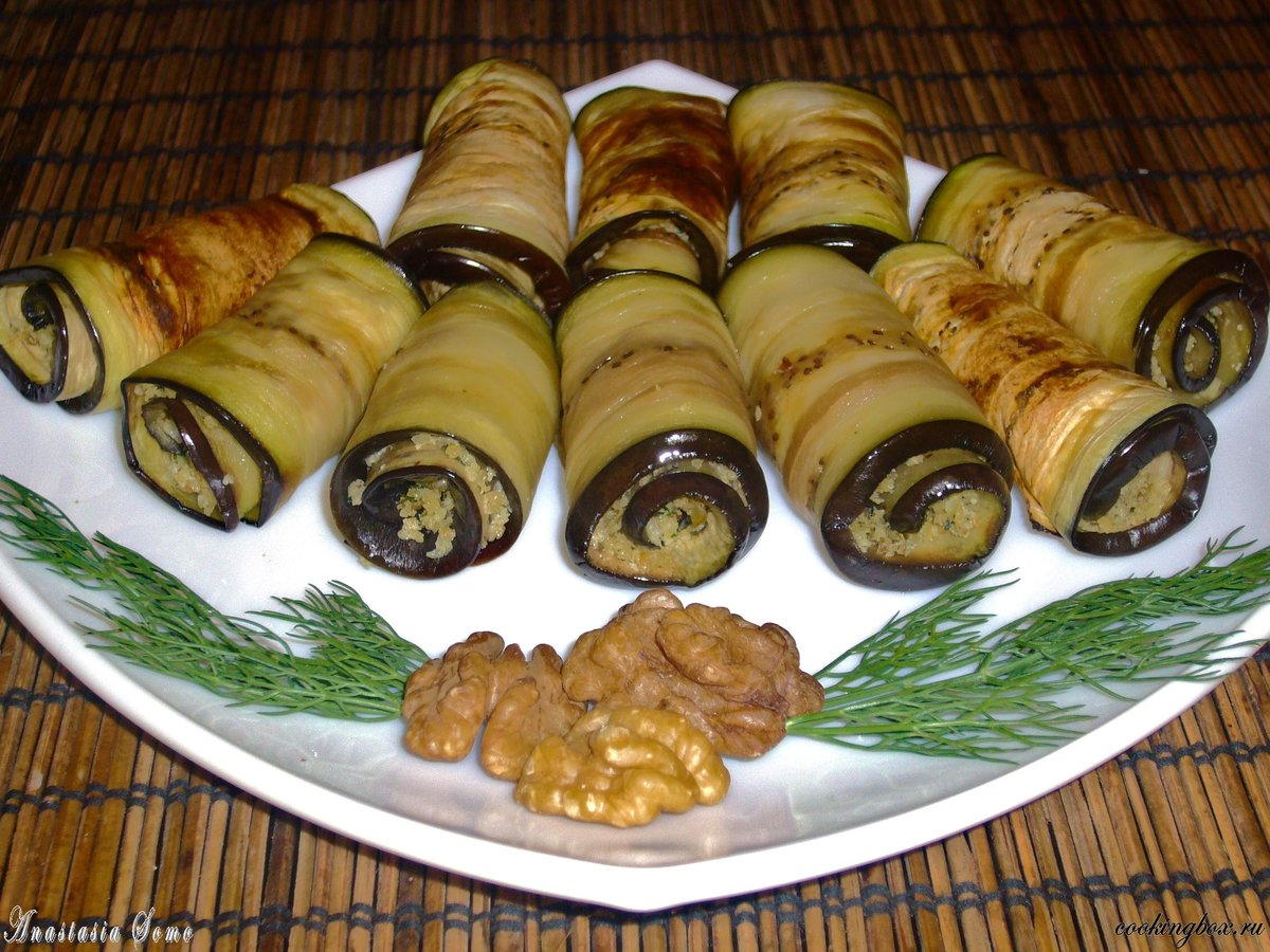 Сациви из баклажан рецепт пошагово