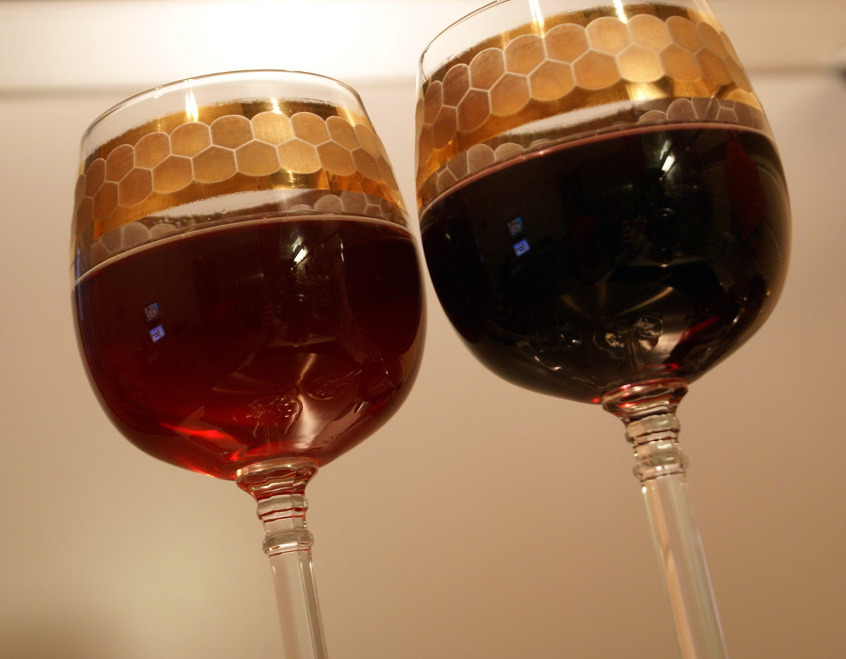 Как осветлить вино в домашних условиях 100