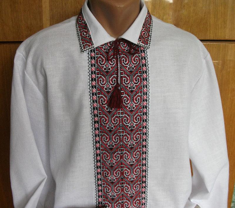 Фото схемы рубашки